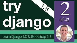 Try Django 1.8 Tutorial - 2 of 42 -  Start Project - Learn Django