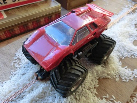 Off Road Slot Car Track Surface Testing