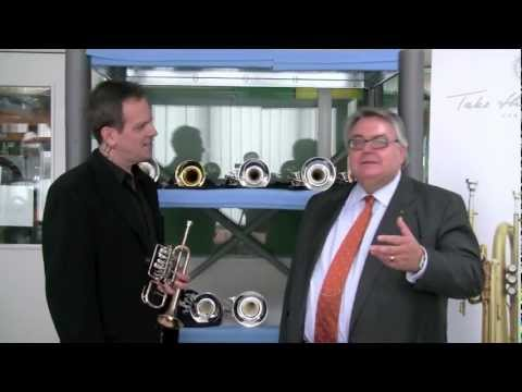 Jon Paul Dante demonstrates the Scherzer Piccolo Trumpet