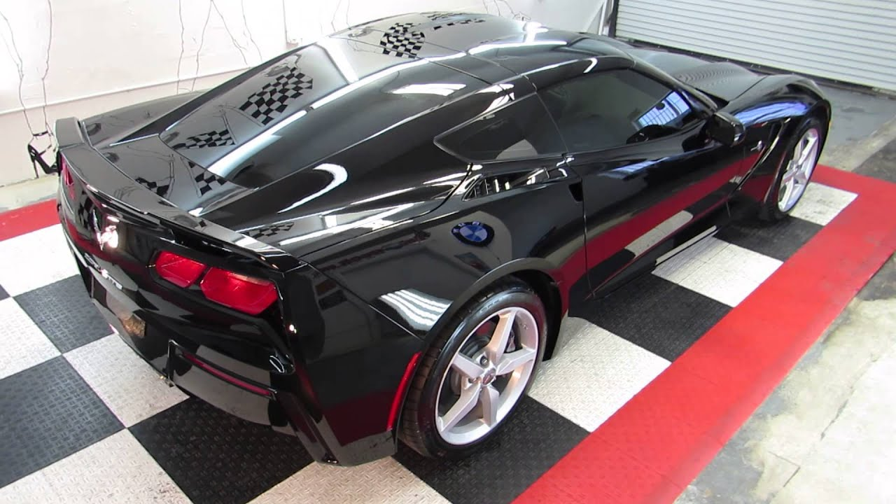 black c7 corvette protected by ceramic pro 9h coating. Black Bedroom Furniture Sets. Home Design Ideas