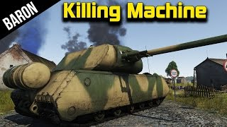 War Thunder Best German Killing Machine! (War Thunder Maus 1.49)