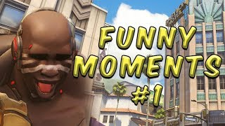 Overwatch Random Groups Funny Moments #1 Noises