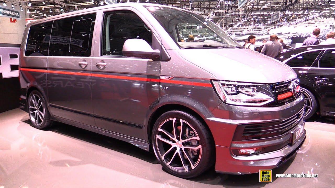 2016 Volkswagen Bus Abt Exterior And Interior Walkaround Geneva Motor Show