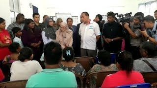 Wan Azizah finds time for constituents despite busy schedule
