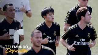Japonés Kubo revela que Hazard es su inspiración en el Real Madrid   Telemundo Deportes