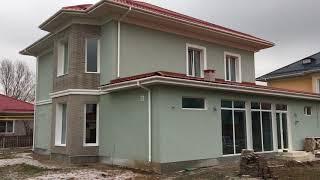 Реконструкция фасада жилого дома в г. Алматы