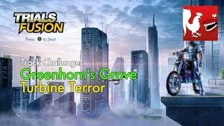 Trials Fusion – Greenhorn's Grove Turbine Terror Track Challenges
