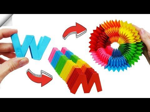rainbow-paper-toy-antistress-transformer-|-diy-crafts-easy