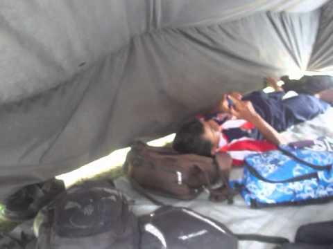 4 Person Scout Tent Glastonbury & 4 Person Scout Tent Glastonbury - YouTube
