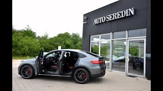 MERCEDES-BENZ GLC 63 AMG S COUPE GREY CARBON RED SEATS AUTO SEREDIN GERMANY