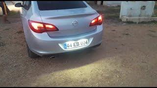 Opel Astra J Led Plakalık