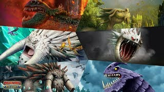 All 6 Legendary Dragons (With Cinematics) | Dragons: Rise of Berk
