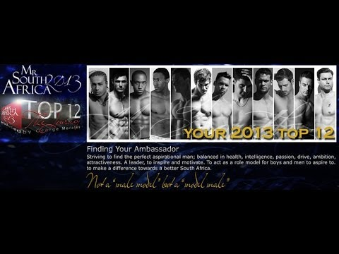 Mr. South Africa 2013 - The Journey E8 (Top12 1-1 With Judge)