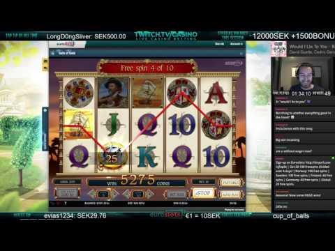Mr.Casino - BIG WIN Sails of Gold!!!