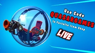 "Large Party?? Fortnite INDIA Live..... Use Code ""QUASARGAMES"""