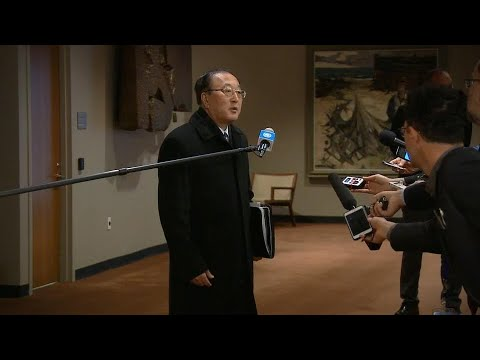China on DPR Korea and Iraq - Security Council Media Stakeout