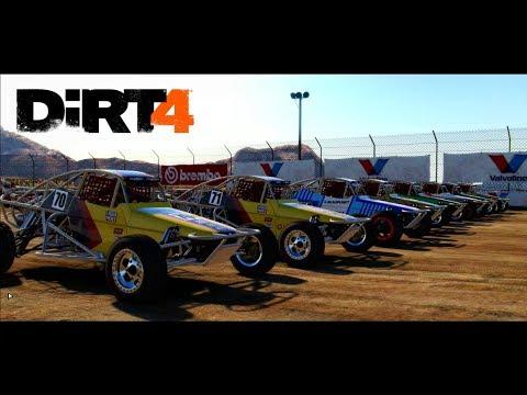 Dirt 4 #4 | A probar los Buggy en Nevada | Saltos y mas Saltos