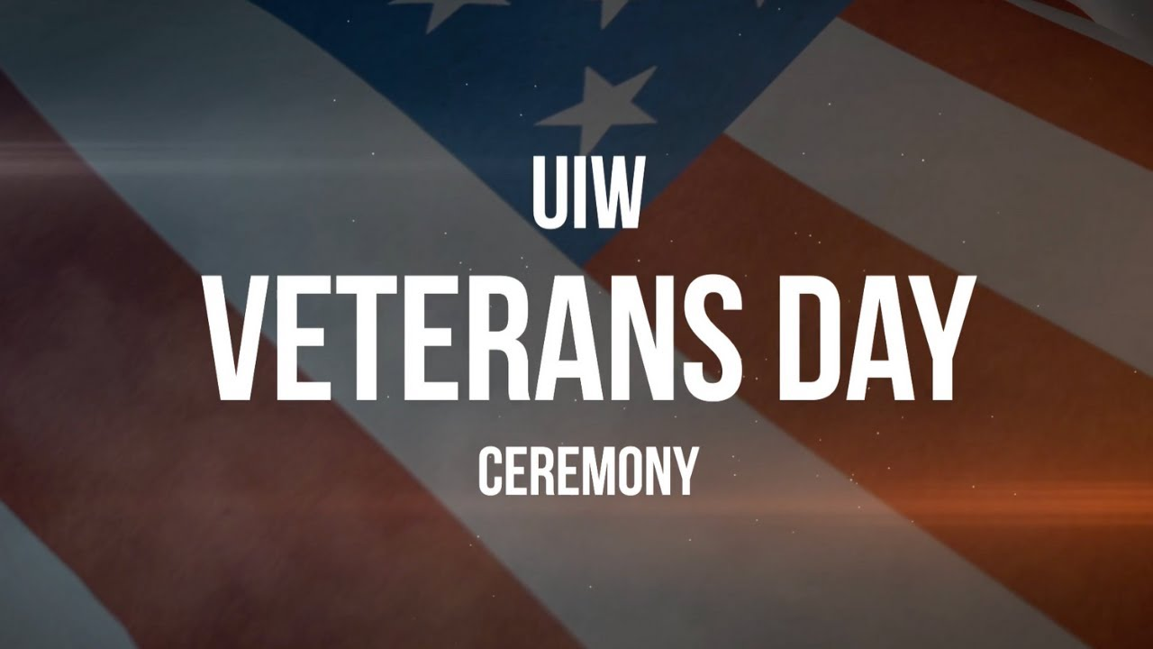 UIW Veterans Day Ceremony - 2020