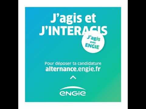 ENGIE recrute en alternance - J'agis et j'interagis