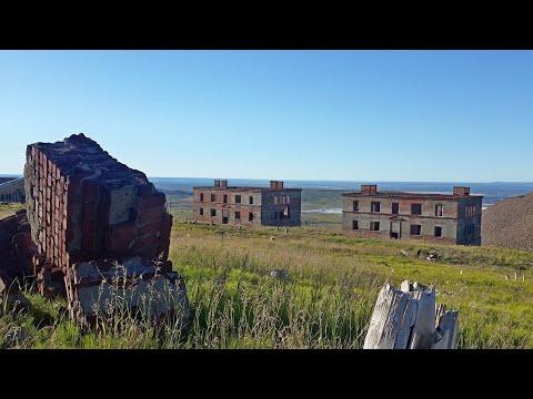 Поход на заброшенный посёлок Западный. 12.07.16 (Таймыр Норильск)