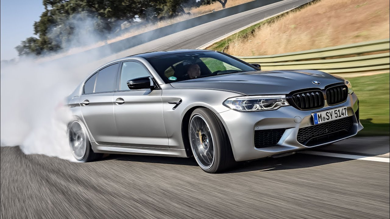 2019 bmw m5 competition - race track test