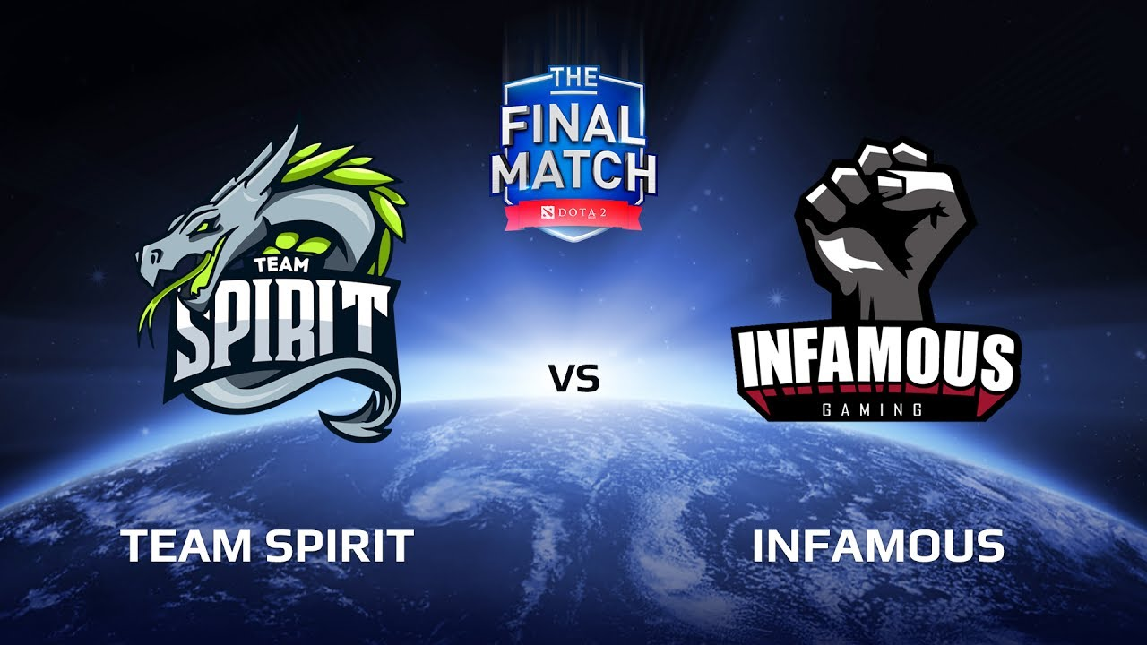 Team Spirit vs Infamous, The Final Match LAN-Final, Play-Off