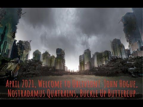 John Hogue, 2021 Nostradamus Quatrains, Countdown to Next Cold Conflict Begins