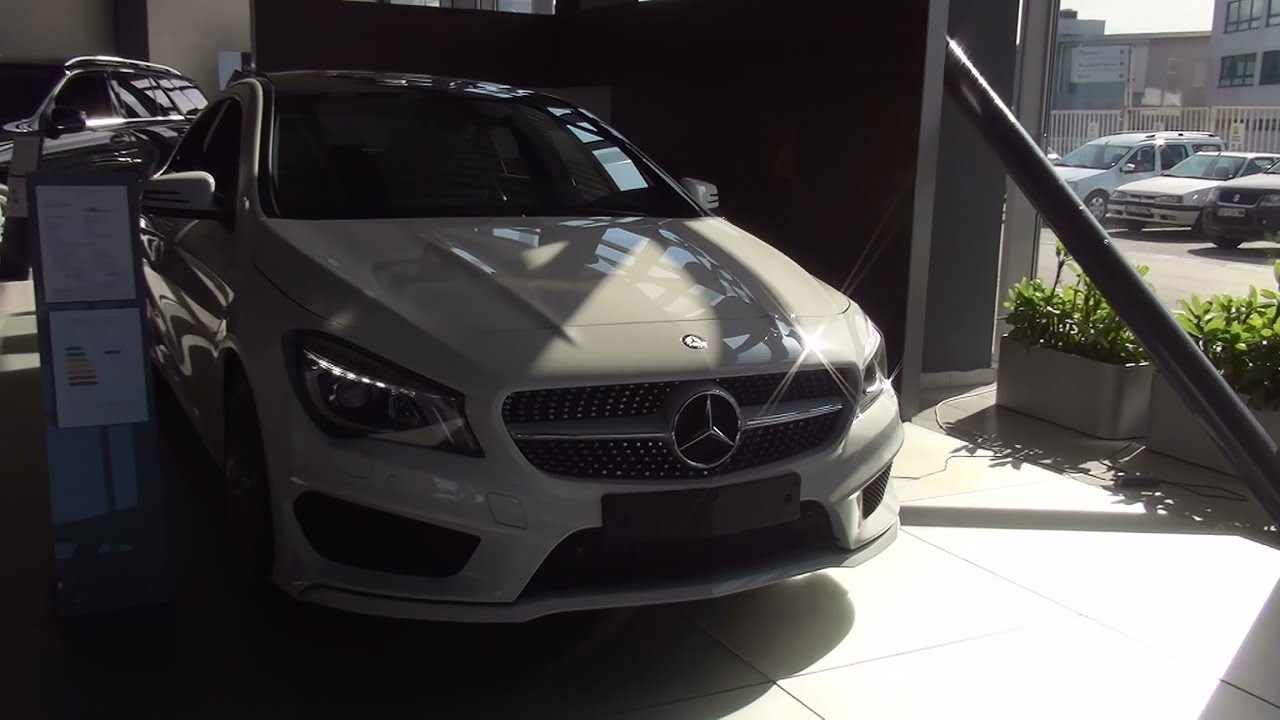 mercedes benz cla 220 cdi exterior and interior in 3d full hd youtube. Black Bedroom Furniture Sets. Home Design Ideas