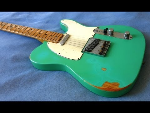 1968 seafoam green telecaster blues in a youtube. Black Bedroom Furniture Sets. Home Design Ideas