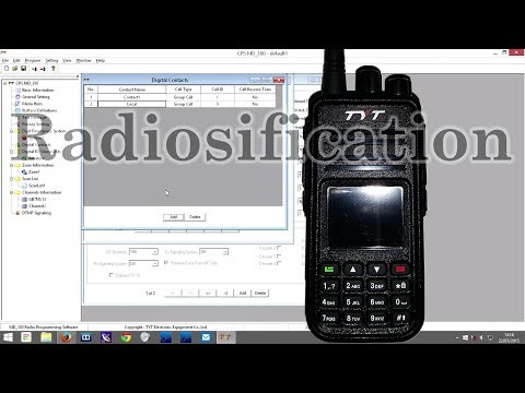 How to scan on TYT MD-380 and other DMR radios