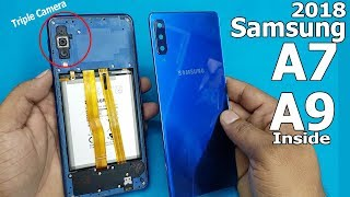 How To Open Samsung Galaxy A7 (2018) Back Panel || Samsung A7 / A9  2018 Disassembly
