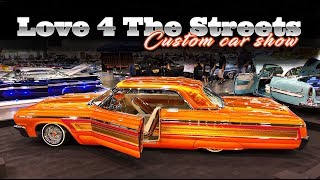 love 4 the streets car show (roll in, setup & show) raw footage (watch in HD)