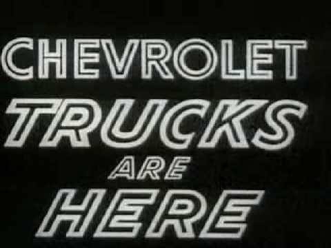 Chevrolet Task Force Alcan Run Trucks Promo Film (1957)
