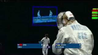 China vs Ukraine - Fencing - Women
