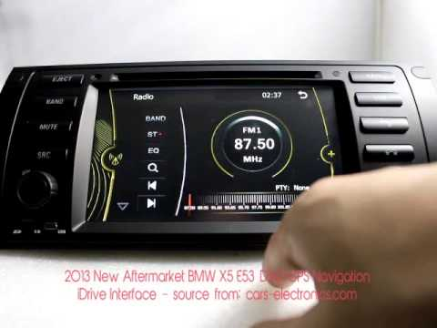 2013 aftermarket idrive bmw x5 e53 dvd gps navigation. Black Bedroom Furniture Sets. Home Design Ideas