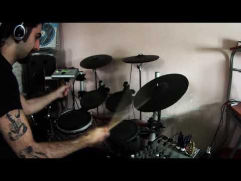 Alessandro delli Carri - Hell's Kitchen (Dream Theater cover) drumless