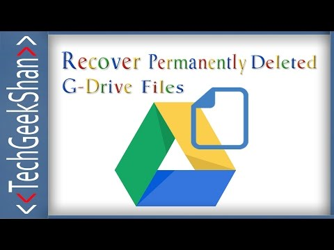 Recover Permanently Deleted Google Drive Files | Deleted Forever from Trash
