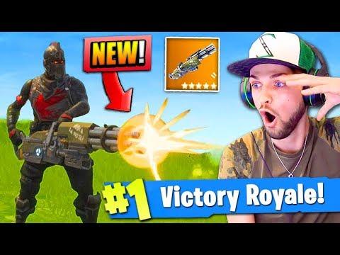 *new*-mini-gun-gameplay-in-fortnite:-battle-royale!-(legendary)
