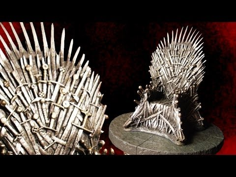 Game of Thrones 7 Inch Iron Throne Replica Review