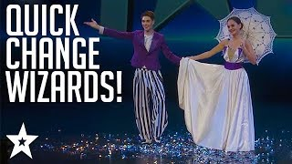 AMAZING Quick Change Act on Cambodia's Got Talent | Got Talent Global