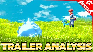 Pokemon Legends Arceus Trailer Analysis