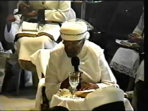 Mother Estella Boyd At The 2001 Daughter Of Zion Youtube
