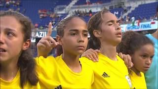 Copa das Nações - Danone - 2017 - Brasil campeão!