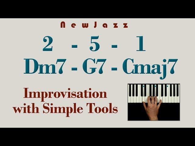 Easy 2-5-1 Jazz Improvisation with Pentatonic Scale