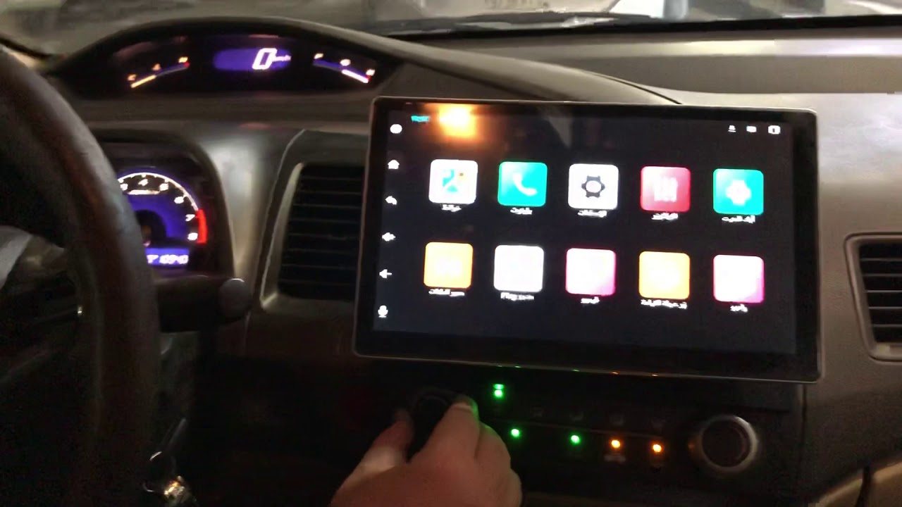 شاشة كل السيارات المتحركة أندرويد 10انش إصدار 9 1ذاكره32رام4gللطلب0553438188 Youtube