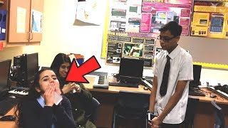 kid raps in front of his crush, gets rejected..
