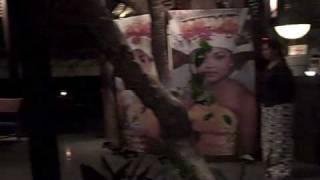 Eating at Lamak in Ubud Bali