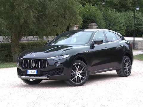 2018 maserati levante s exterior and design doovi. Black Bedroom Furniture Sets. Home Design Ideas