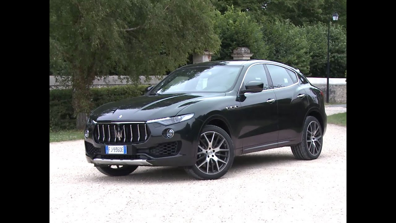 essai maserati levante v6 biturbo 430 s 2017 youtube. Black Bedroom Furniture Sets. Home Design Ideas