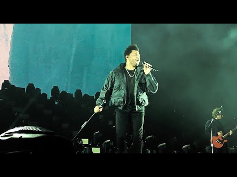 The Weeknd - Pray For Me (Asia Tour Live In Bangkok /2018)